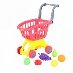 WADER-POLESIE Wózek do sklepu mini z akcesoriami