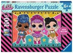 Ravensburger Puzzle 100 elementów XXL - L.O.L. Surprise