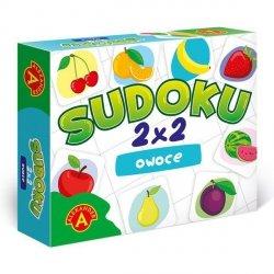 Gra Sudoku 2X2 Owoce
