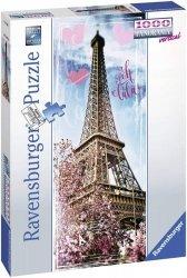 Ravensburger Puzzle 1000 elementów Wieża Eifla