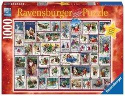 Ravensburger Puzzle 1000 elementów Kolaż Świąteczne życzenia