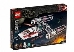 LEGO Polska Klocki Star Wars Myśliwiec Y-Wing Ruchu Oporu