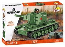 Cobi Klocki Plastikowe klocki Small Army WOT KV-2