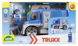 Lena Samochód Policja z akcesoriami w pudełku Truxx