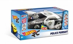 Samochód Mondo Hot Wheels R/C L&S Police Pursuit
