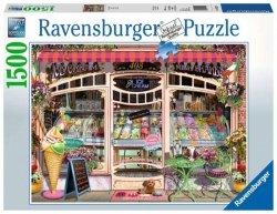 Ravensburger Puzzle 1500 elementów Ice Cream Shop