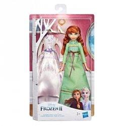 Hasbro Lalka Anna z 2 kreacjami, Kraina Lodu 2 (Frozen 2)