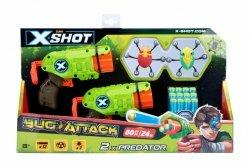 Formatex Zestaw X-SHOT Bug Attack  Predator (2 robaki + 12 strzałek)