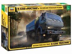 Zvezda Model plastikowy 6x6 Army Truck Kamaz-5350 Mustang