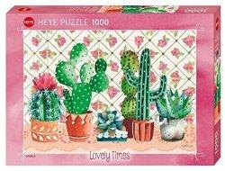 Heye Puzzle 1000 elementów Kaktusy