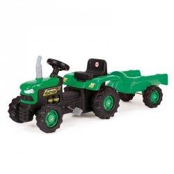 Wader Dolu Traktor na pedały z przyczepą