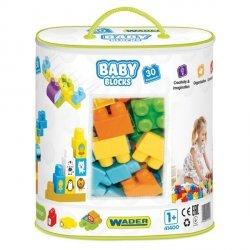 Wader Baby Blocks Klocki torba 30 szt.