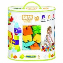Wader Baby Blocks Klocki torba 100 szt.