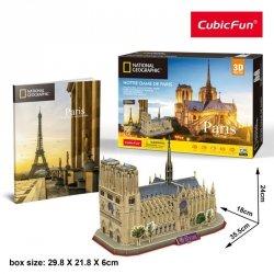 Cubicfun Puzzle 3D Notre Dame National Geographic