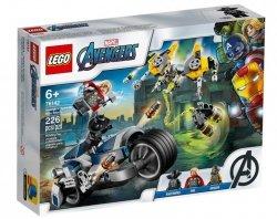 LEGO Klocki Super Heroes Avengers Walka na motocyklu