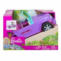 Mattel Lalka Barbie Plażowy Jeep