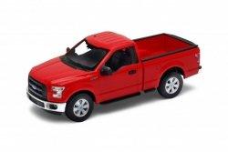 Welly Model kolekcjonerski 2015 Ford F150 regular Cab, czerwony