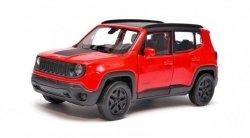 Welly Model kolekcjonerski Jeep Renegade Trailhawk czerwony