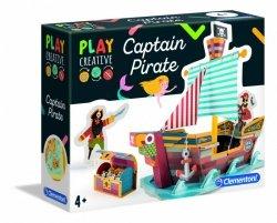 Clementoni Zestaw kreatywny Statek piratów