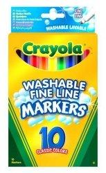 Crayola Flamastry 10 sztuk