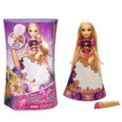 Lalka Księżniczki Disneya - Magiczna Sukienka, Roszpunka