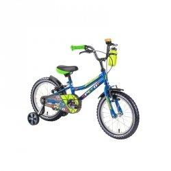 """Rower dziecięcy DHS Speedy 1403 14"""" - model 2019 Kolor Niebieski"""