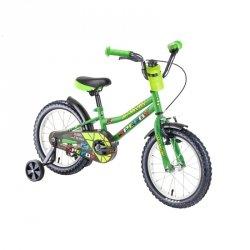 """Rower dziecięcy DHS Speedy 1601 16"""" - model 2019 Kolor Zielony"""