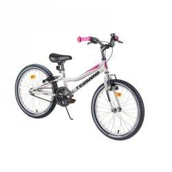 """Rower dziecięcy DHS Teranna 2004 20"""" - model 2019 Kolor Różowy"""