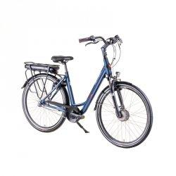 """Elektryczny rower miejski Devron 28124 28"""" - model 2019 Kolor Niebieski, Rozmiar ramy 19,5"""""""