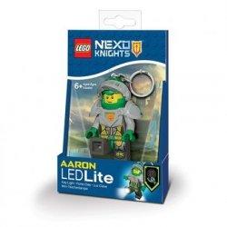 Brelok do kluczy z latarką - Lego Nexo Knights Aaron