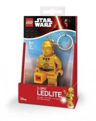 Brelok do kluczy z latarką Lego Star Wars – C-3PO