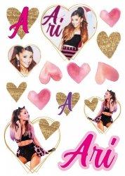 Naklejka ścienna Ariana Grande