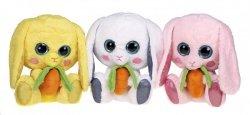 Maskotka pluszowa królik 24 cm - wzór do wyboru
