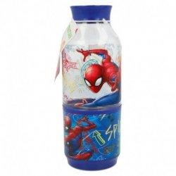 Bidon ze schowkiem 300 ml Spiderman