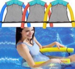 Materac dmuchany fotel krzesło do pływania