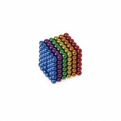 Neocube klocki magnetyczne kulki 3mm tęcza 216el.
