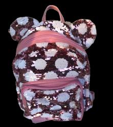 Plecaczek dziecięcy Myszka z cekinami