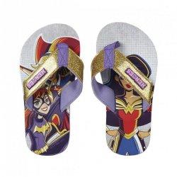 Klapki, japonki Superhero girls : Rozmiar: - 37