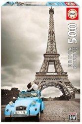 Puzzle Wieża Eiffla, Paryż 500 el.