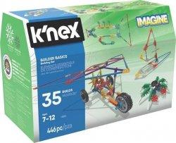 K'nex K'nex Imagine Podstawy dla Konstruktorów- zestaw konstrukcyjny - 35 modeli