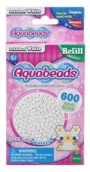 Aquabeads Białe lite koraliki
