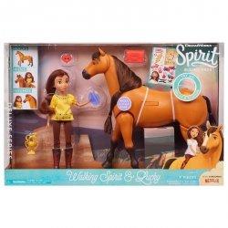 Just Play Mustang: Duch wolności Spirit - Interaktywny rumak i lalka Lucky
