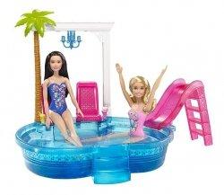 Barbie Basen ze zjeżdżalnią