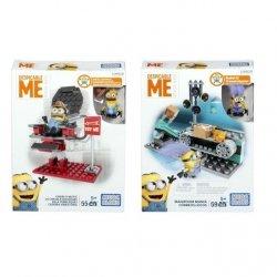Mattel Mega Bloks Minionki Małe zestawy Ast.
