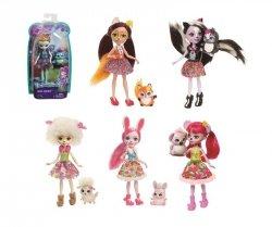 Mattel Enchantimals Lalka + zwierzątko Ast.