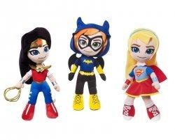 Mattel DC Super Hero Girls Bohaterki Miniprzytulanki Ast.