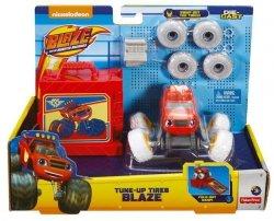 Mattel Blaze i Mega Maszyny Pojazd Tuning opon Ast.