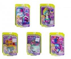 Mattel Polly Pocket Kompaktowe zestawy Ast.