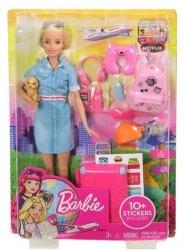 Barbie Barbie Dreamhouse Adventures Barbie w podróży Lalka