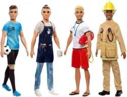 Mattel Barbie Ken Kariera Lalka Ast.